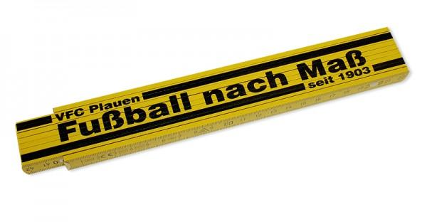 Zollstock Fußball nach Maß