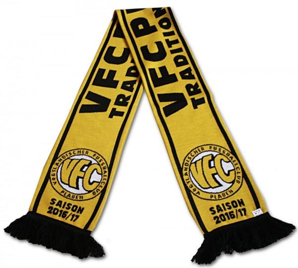 Strickschal VFC Plauen Saison 2016/17